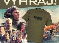Súťaž o 3x tričko s motívom filmu Bitka o Midway