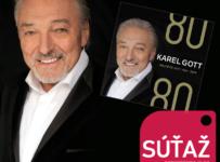 Súťaž o 4CD Karel Gott 80/80 Největší hity 1964-2019