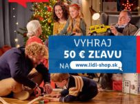Súťaž o 50€ zľavu na nákup na lidl-shope
