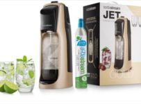 Súťaž o SodaStream Jet Premium Gold + dámske fľaše