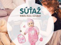 Súťaž o bábiku Baby Annabell