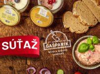 Súťaž o balíček plný dobrôt od Mäsovýroba Gašparík