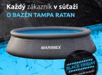 Súťaž o bazén Tampa RATAN v hodnote 119 € od Marimexu