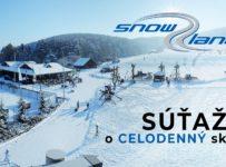 Súťaž o celodenný skipass v Snowland - Valčianska dolina