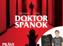 Súťaž o dámsku mikinu a pánske tričko s motívom filmu Doktor Spánok