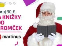 Súťaž o darčekové poukážky do kníhkupectva Martinus v hodnote 30 €
