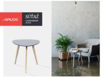 Súťaž o dizajnový konferenčný stolík v hodnote 99€