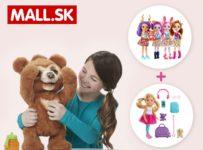 Súťaž o medvedíka FurReal Friends Blueberry a bábiky Barbie