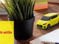 Súťaž o model autíčka Swift Sport