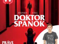 Súťaž o pánske tričko s motívom filmu Doktor Spánok