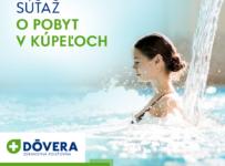 Súťaž o pobyt pre 2 osoby v kúpeľoch Trenčianske Teplice