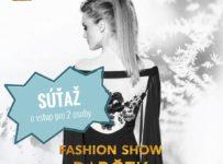 Súťaž o pozvánku pre 2 osoby na Fashion show DARČEK by Lýdia Eckhardt