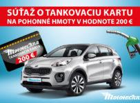 Súťaž o tankovaciu kartu v hodnote 200 € od Mototechny