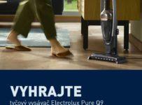 Súťaž o tichý tyčový vysávač Electrolux Pure Q9