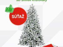 Súťaž o umelý vianočný stromček 3D Smrek Kráľovský