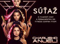 Súťaž s filmom CHARLIEHO ANJELI o permanentku do fitness centra FIT UP