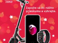 Vianočná súťaž s Tesco - vyhrajte Apple iPhone 7