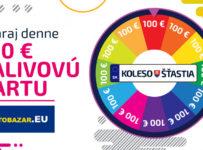 Vyhraj denne 100€ palivovú kartu so svojou ŠPZ-kou