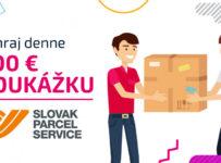 Vysúťaž si v dueli 200 € na vianočné nákupy od Slovak Parcel Service