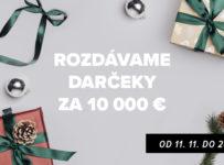 ZOOT rozdáva darčeky za 10 000 € – niečo si želajte a...