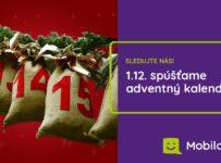Adventný kalendár mobilonline.sk