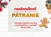 Nájdi medovníček a vyhraj na ZaMenej.sk jednu z 24 cien
