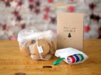 Súťaž o štýlové 3 kusové vianočné balenie eko vreciek z kukurice Beniki