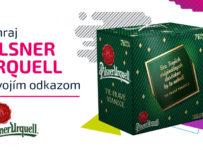 Súťaž o 10x darčekové balenie piva Pilsner Urquell s vlastným odkazom