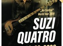 Súťaž o 2 vstupenky na legendárnu Suzi Quatro do Viedne