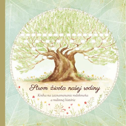 Súťaž o 3 Knihy Strom života našej rodiny