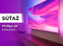 Súťaž o 4K televízor Philips