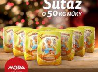 Súťaž o 50kg pšeničnej celozrnnej múky od MORA Slovensko