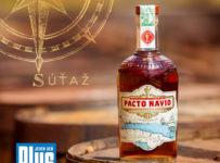 Súťaž o 6 fliaš kubánskeho rumu Pacto Navio