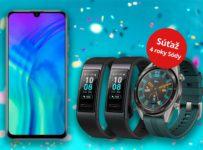 Súťaž o Honor 20 Lite, hodinky Huawei Watch GT2 a 2x fitnes náramok Huawei Band 3 Pro
