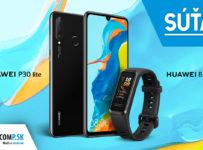 Súťaž o Huawei P30 lite a náramok Huawei Band 4