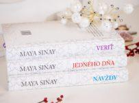 Súťaž o knihy pre ženy - biela romantická séria od Maya Sinay