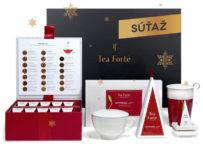 Súťaž o luxusný set čajov Tea Forte