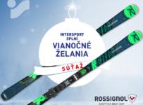 Súťaž o nové lyže s viazaním Rossignol React R4 Sport CA v hodnote 399,99€