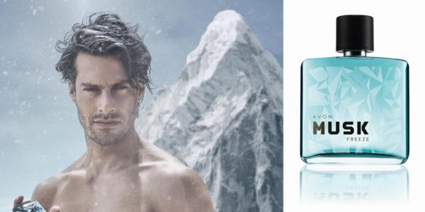 Súťaž o novú pánsku vôňu Musk Freeze EDT Avon