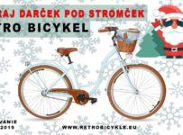 Súťaž o retro bicykel pod stromček