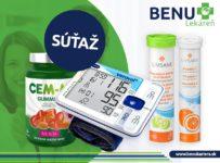 Súťaž o sadu vitamínov a tlakomeru
