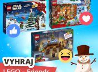 Súťaž o skvelý Adventný kalendár LEGO Friends