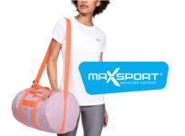 Súťaž o tašku Under Armour s nádielkou proteínových tyčiniek Max Sport