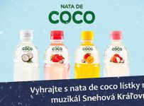 Súťaž s NATA DE COCO o lístky na rodinný muzikál Snehová kráľovná
