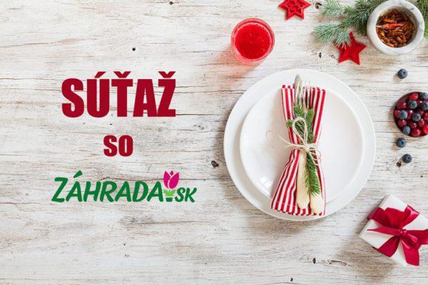 Súťaž so Záhrada.sk a vyhraj jednu z troch cien