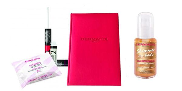 Súťaže o kozmetický balíček s praktickým diárom Dermacol