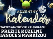 Súťažte o kúzelné výhry v adventnom kalendári TV Markíza