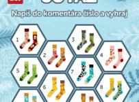 Veľká vianočná súťaž Dedoles - ponožky