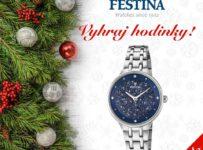 Vianočná súťaž o 4 hodinky Festina