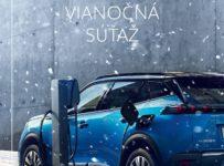 Vianočná súťaž o darčekové predmety Peugeot